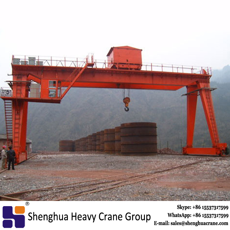 Electric winch double beam mobile gantry crane 55t 80t 85t 90t