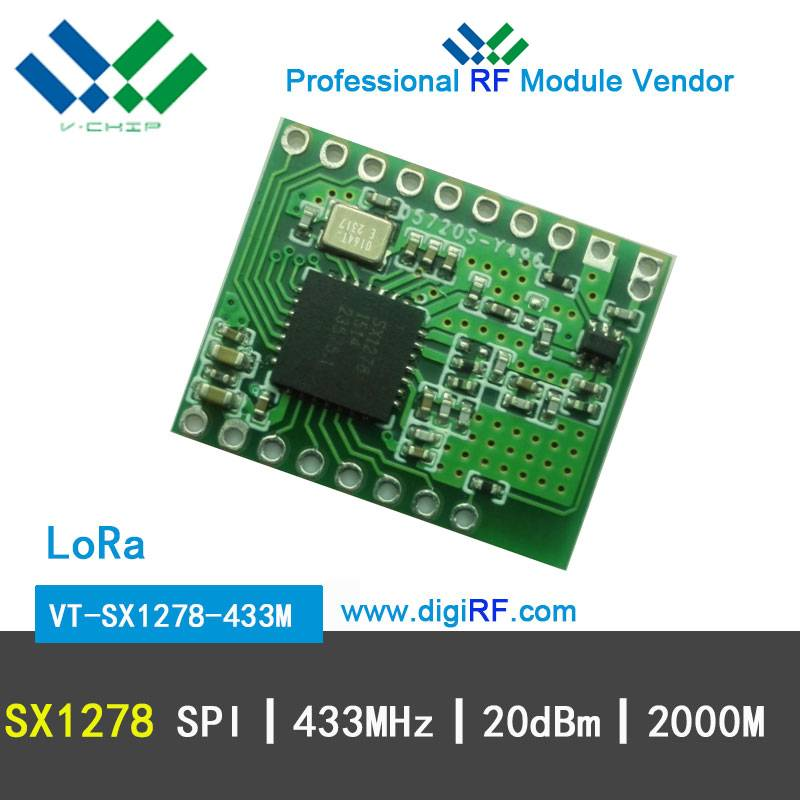 LOra Spreading High Sensitivity SX1278 Wireless Transceiver Module 433MHz