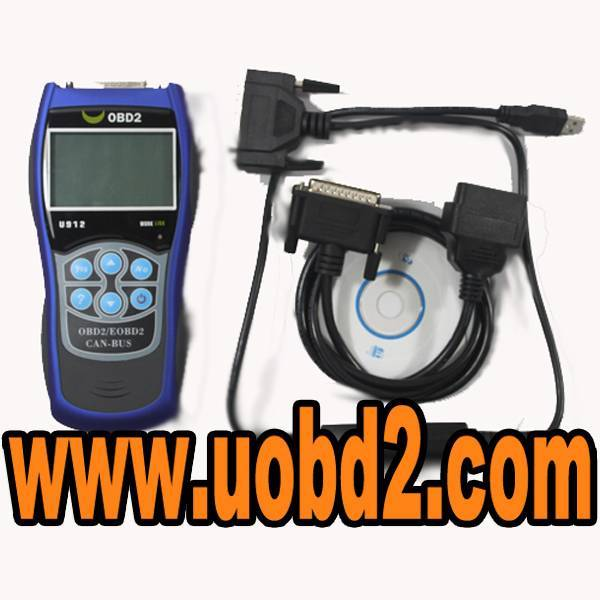 Autoscanner OBDII EOBD fault code reader U912 updated by internet