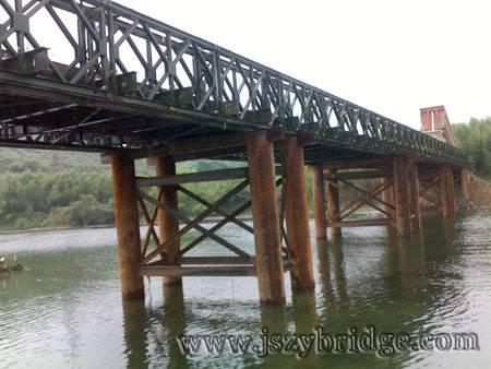 compact 100/200 bridge,Portable Steel Bridge