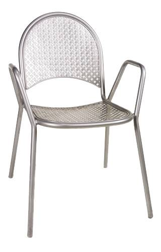 Stackable diamond back patio chair