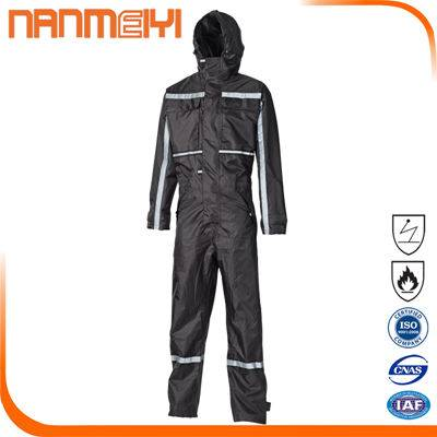 Custom anti-static flame resistant coverall factory work clothes