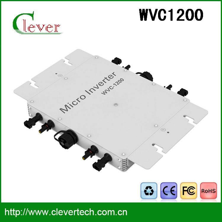 High quality  mini solar grid inverter 1200w 25 years lifetime waterproof ip65