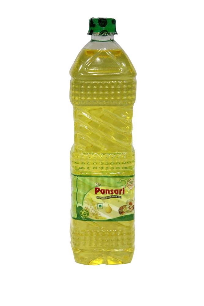 REFINED SOYBEAN OIL 1LTR BOTTLE (PACK OF 12)