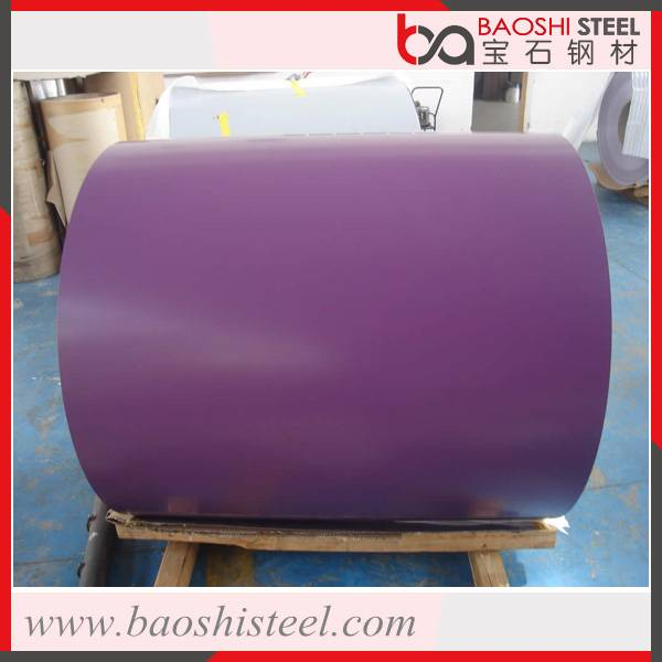 Construction used customised color coated steel in coils