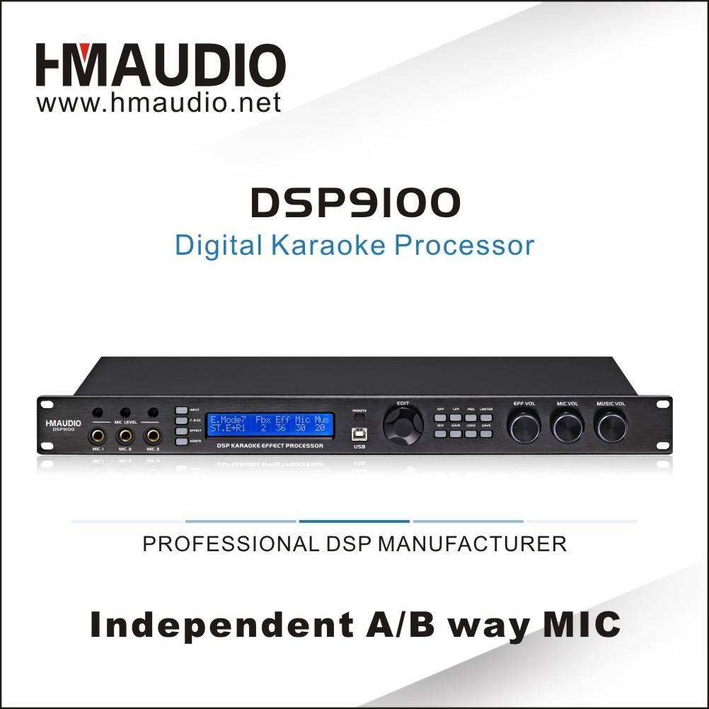 DSP 9100 Digital Karaoke Processor LCD screen