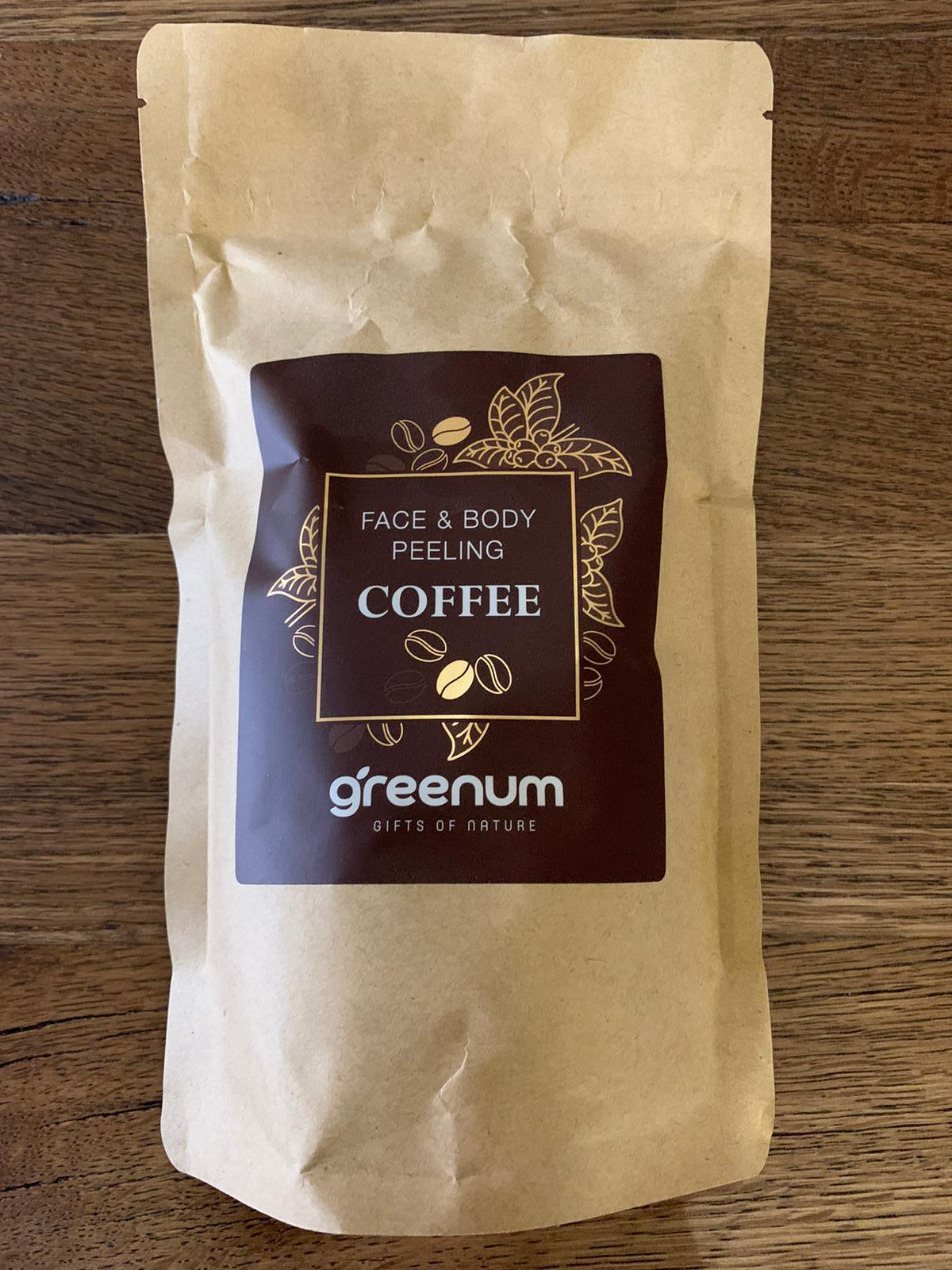 Coffee Body Scrub Natural Body Care Products Zip Paper Bag Producer 100% Handmade Cosmetics Beauty