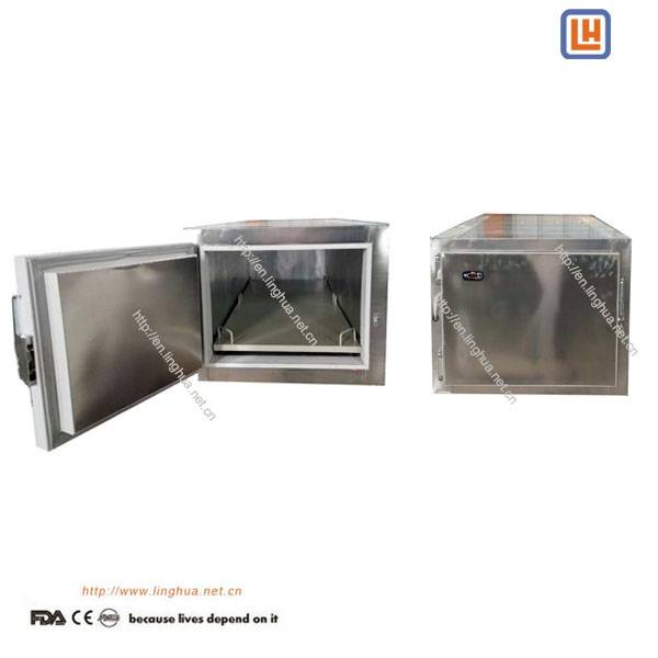Stainess Steel 1 Body Corpse Mortuary Refrigerator for Mortuary Dead Body refrigeration in morgue