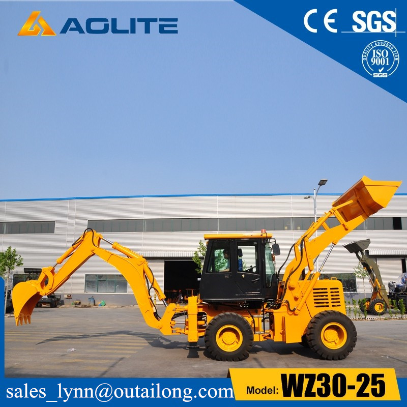 Factory Low Price Caterpillar New Small Backhoe Wheel Loader WZ30-25