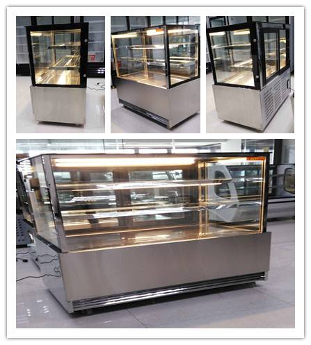 Market Series Refrigerated Bakery Case Cooler Stainless