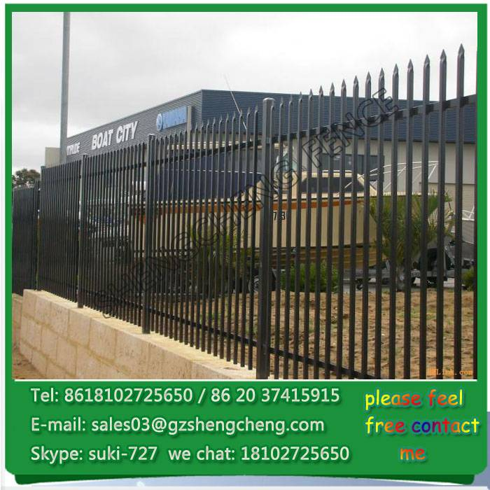 Hot sale high quality wrought iron fence