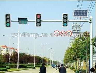 Solar traffic signal lamp 20W traffic light