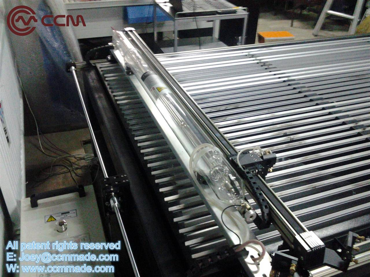 CCM linear rail in plasma cutting machine