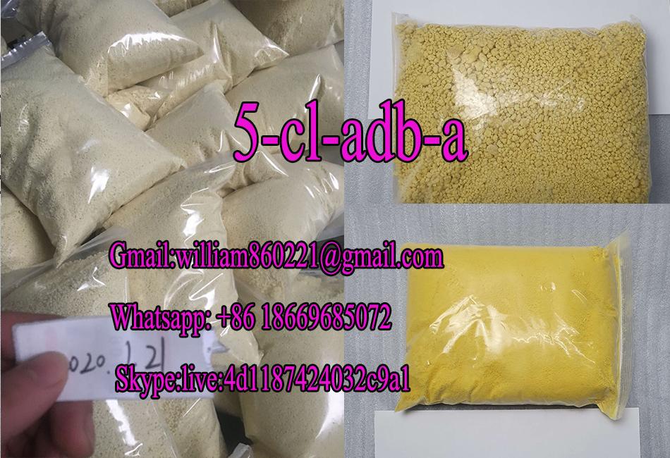Factory supply Best cannabin 5CLADB-A Raw Powders 5cladba drug China 5cladb-a yellow Powder