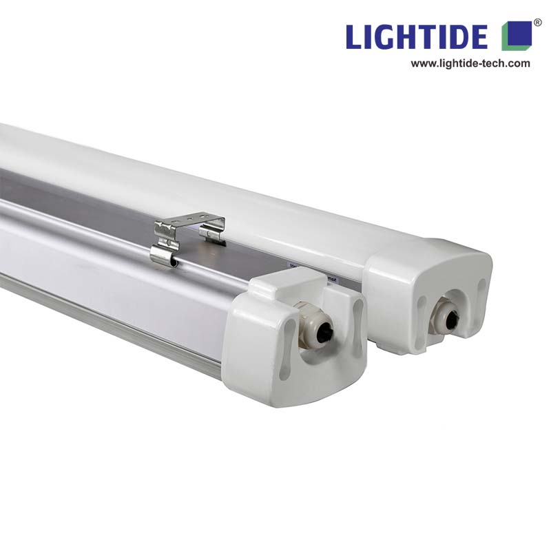 IP66 Tri-proof LED Batten Lights, 100-277vac, 60W, 150 LPW, 150CM, DLC/CE qualified, 5-yrs warranty