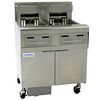 DEEP FRYER electric working