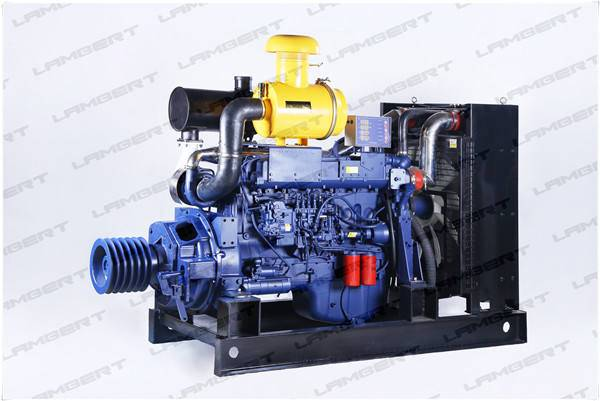 24KW-295KW For extremely dusty area Chinese stationary diesel engines 6126ZLP accept customise