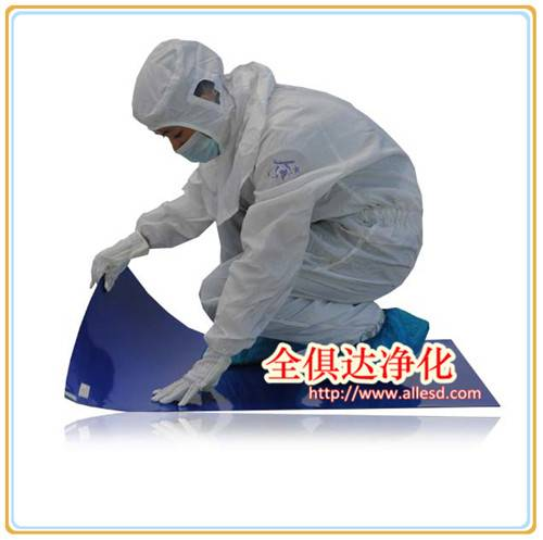 Anti Slip Factory Flooring Peelable Cleanroom Tacky Mat