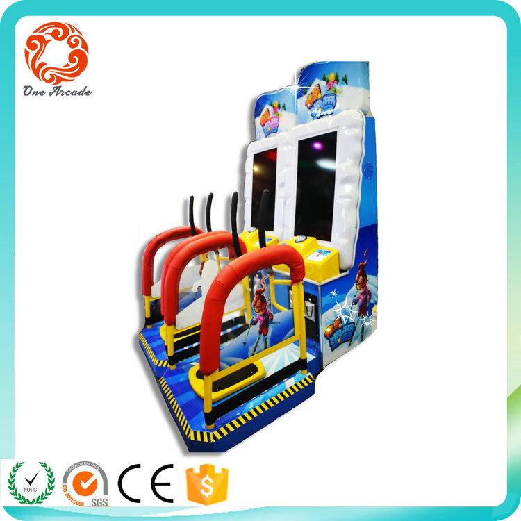 Hot Sales Indoor Amusement Simulator Skiing Kids Game Machine