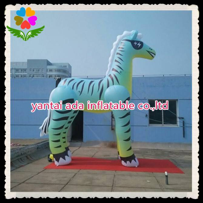 Inflatable Zebra Cartoon