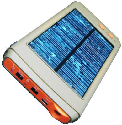All-purpose Solar Battery Charger for all standard Laptop S02B, High-Capacity 11200mAh Portable Emer
