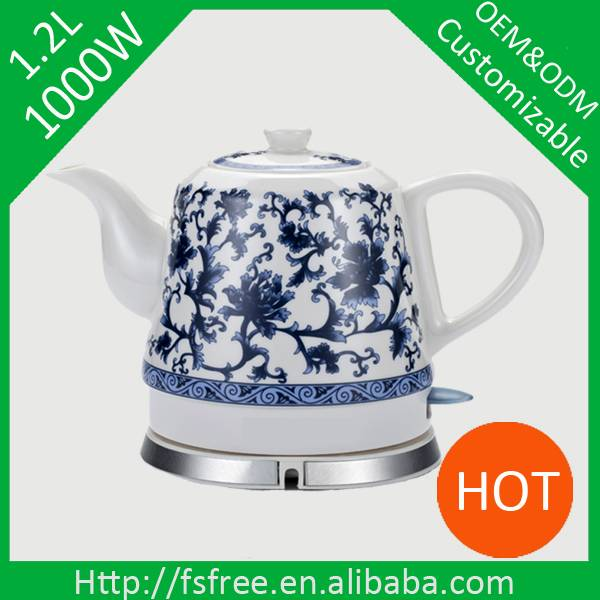 Ceramic tea kettle electric kettle
