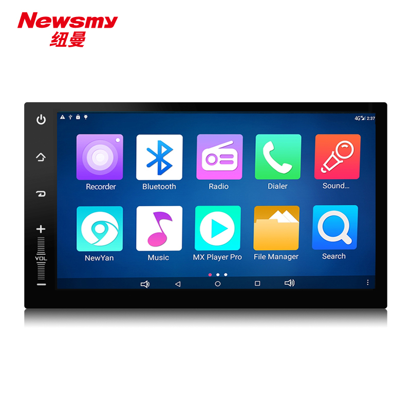 NM3002-H-H0 (7'' Universal) Newsmy CarPad4 Android 5.0 head unit with Newyan app