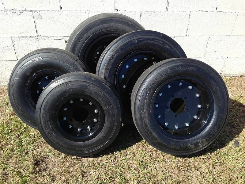 used aircraft tires