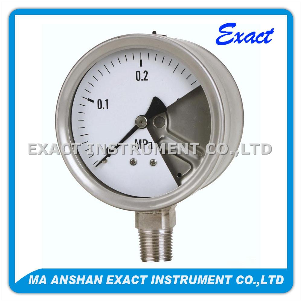 Safety Pattern Pressure Gauge