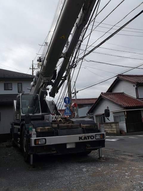 2002 KATO 50 ton rough terrain crane KR-50H-L2 SL-600-II Origin JAPAN Location JAPAN