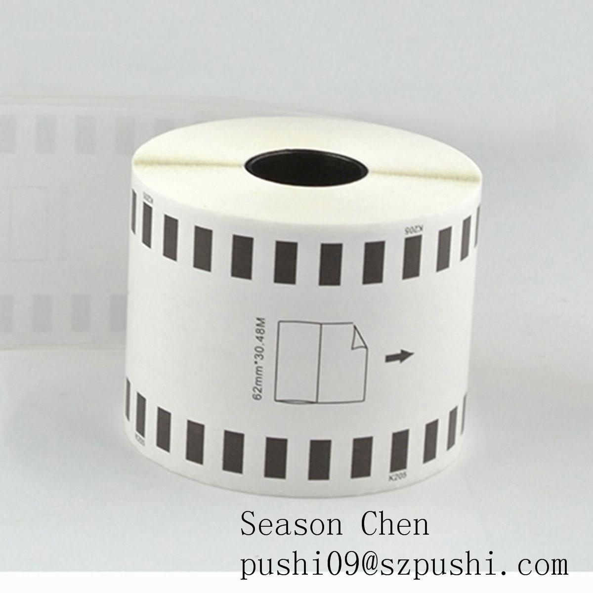 DK sticker label DK-22205 DK2205 DK 22205 for thermic printer brother ql700