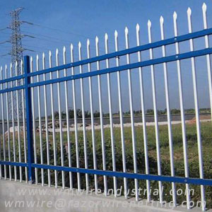 Zinc steel fence | Picket fence ---- WM Wire Industrial
