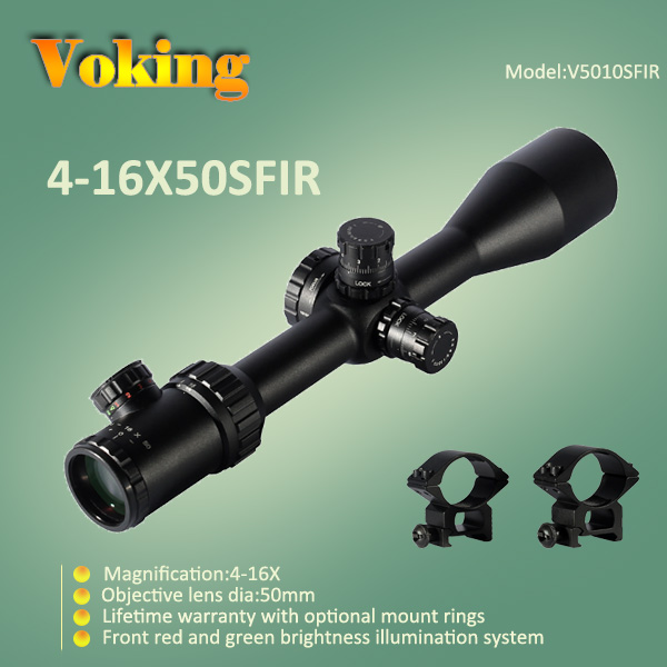 Voking 4-16X50 SFIR magnifier scope with your own APP