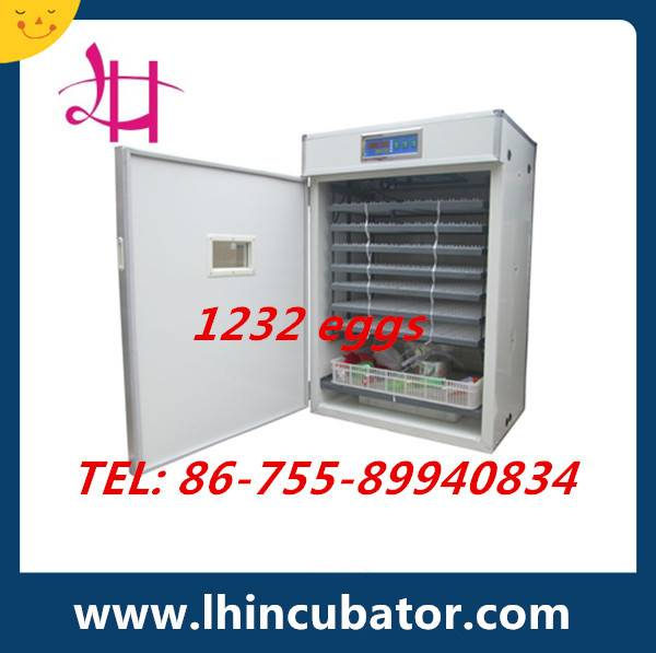 1232Eggs Digital Automatic Chicken Egg Incubator cheap prise LH-9