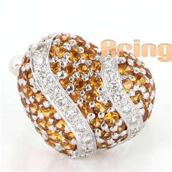 Wholesale 18k Gold Jewelry vintage style Diamond Rings solid gold jewelry