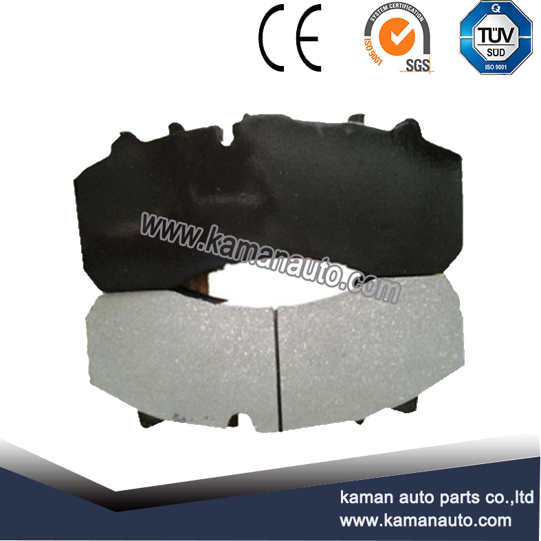 WVA29061 truck break pads for DAF IVECO MAN MERCEDES truck parts