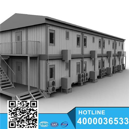 Wooden flatpack container house for living