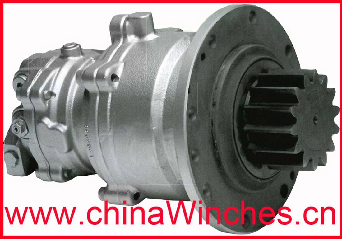 Kayaba (KYB) MSG-27P/44P Hydraulic Gearbox Swing Drive Motor / Slew Drive and Rexroth GFB series