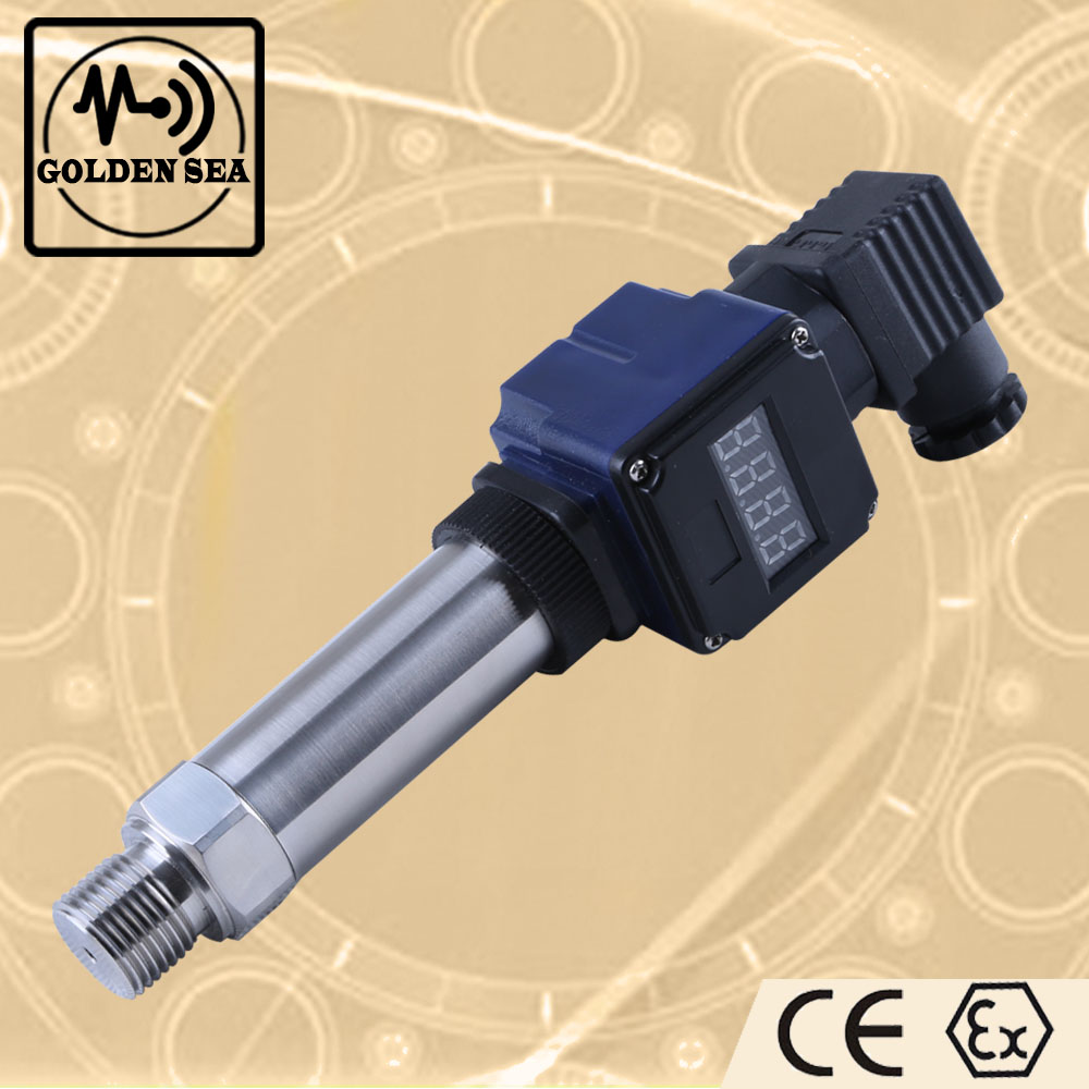 Digital hydraulic oil pressure sensor with LCD display