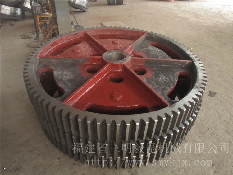 turbine used bull gear