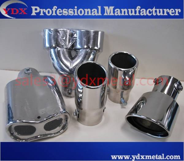 stainless steel car tail exhaust pipe/car muffler