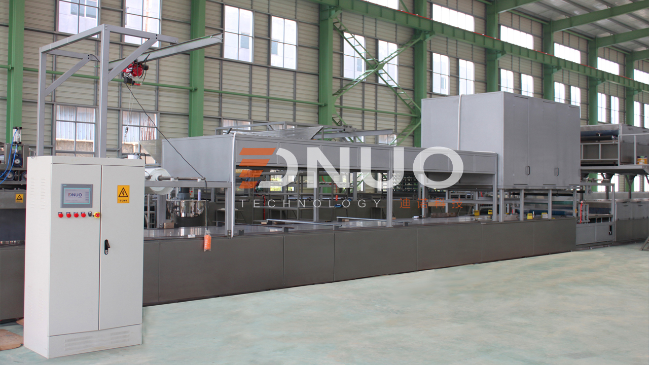 High speed automatic FRP sheet making machine