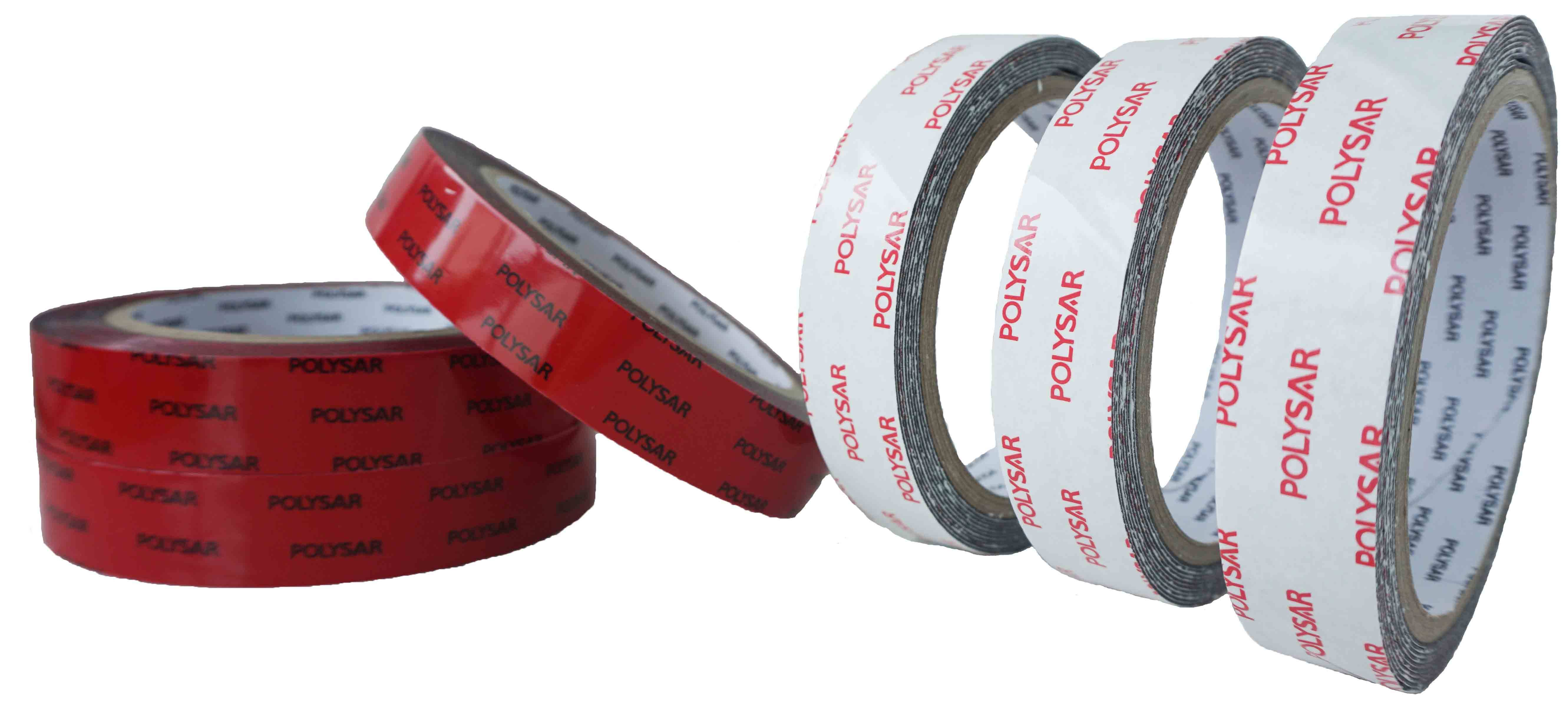 PE foam tape apply to nameplates,automotive and so on