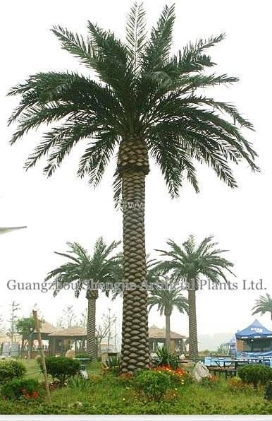 high simulation artificial date palm tree