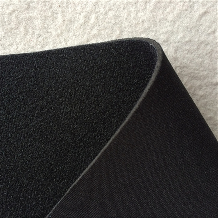 neoprene fabric ok cloth nylon coated neoprene rubber sheet black 3mm glove wetsuits velcrability