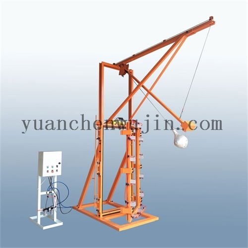 Safety Tempered Glass Impact Testing Equipment