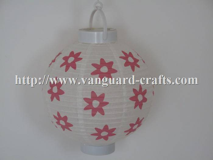 LED holiday paper lantern light