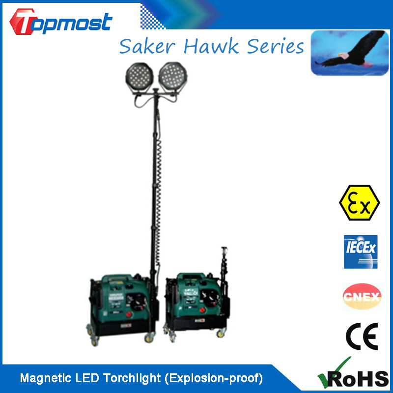 LED Multi-functional Mobile Worklight for Site Operation