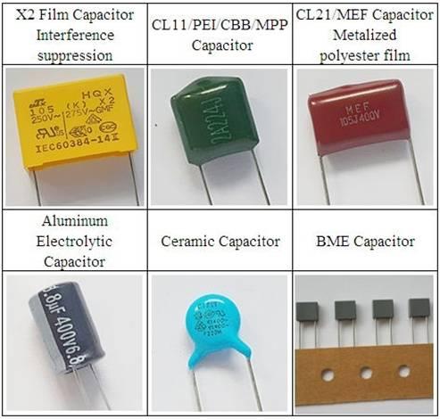 Low price hot sales film capacitor X2 capacitor