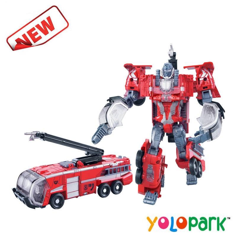 2016 New Items Intelligent Transformation Robot & Fire Truck